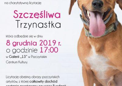 Aukcja charytatywna – 8 grudnia 2019 r.